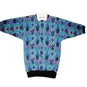 Image of Studded Aztec Crewneck