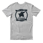 Image of Compatriot Built To Last T-Shirt (Grey)
