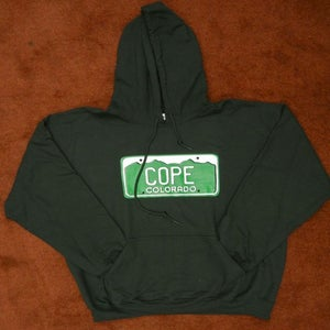 Image of Colorado License Plate Hoodie
