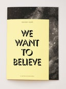 Image of Issue #01 - We want to believe