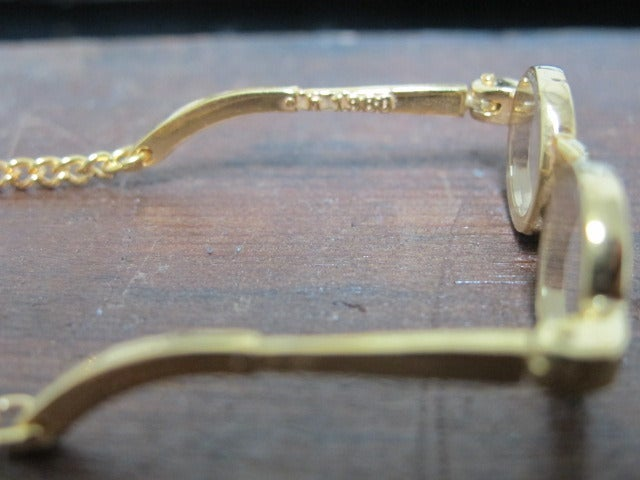 Image of JOHN LENNON STYLE 1980 GLASSES NECKLACE