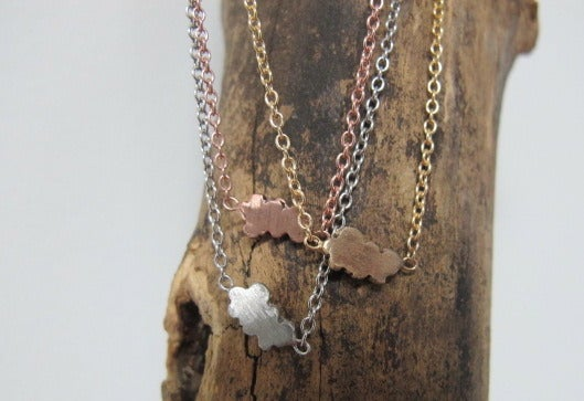Image of MEADOW CLOUD NECKLACE