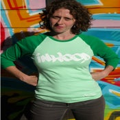 Image of Rep Your Hood Women's Inwood 3/4 Sleeve Baseball Jersey