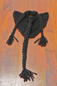 Image of Black Knit Beard