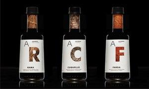 Image of Aceite de Oliva Virgen Extra Rama, Cuquello y Farga | 250mL | Cristal | Pack 3 aceites monovarietale
