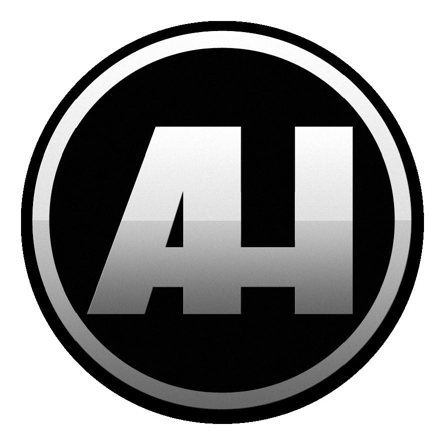 Adam Hundley — AH Logo Sticker