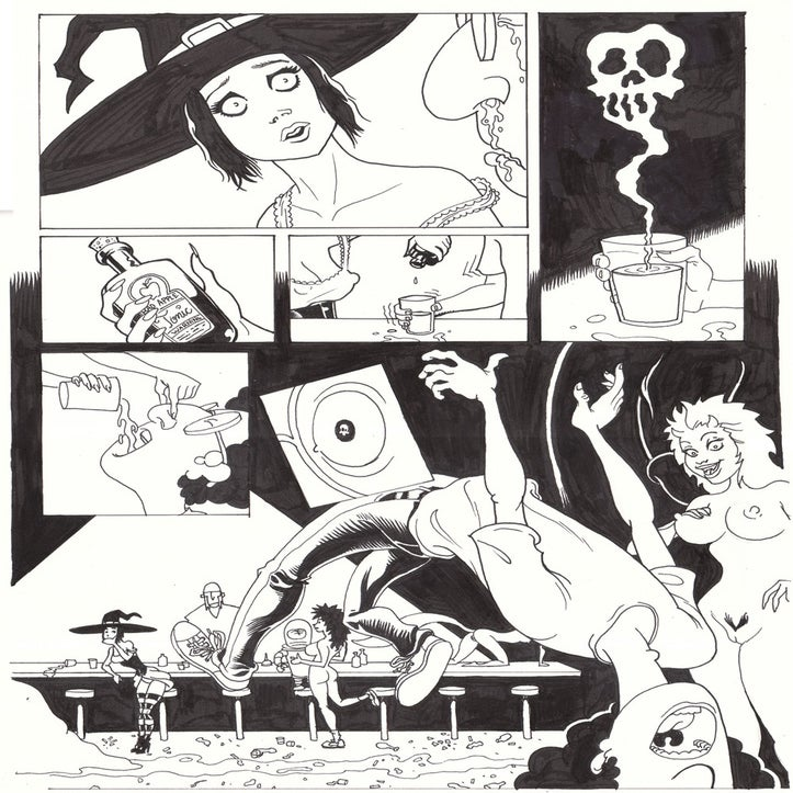 Image of Original Artwork - Live Nude Ghouls Page 5