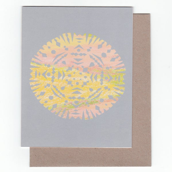 Image of Cutout Greeting Card