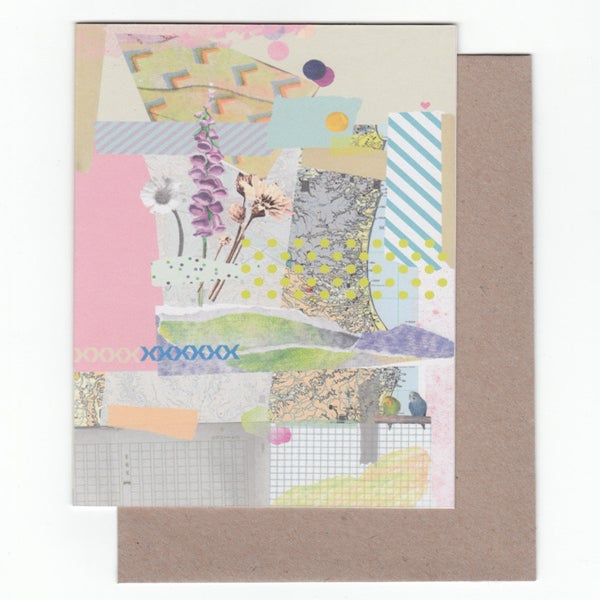 Image of Collage Greeting Card