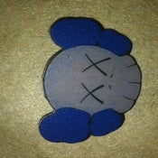 Image of A.R.T.S.Y MAGAZINExKAWS PIN-BLUE