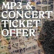 Image of cut price mp3 + ticket bundle