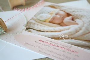 Image of Holiday Photo Card: Biggest Gift (girl)
