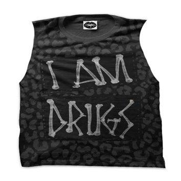 Image of I Am Drugs (Black Leopard)