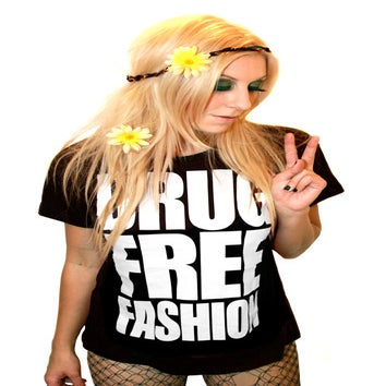 Image of Drug Free Fashion (Black)