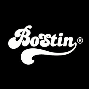 Image of Retro Bostin Design - Black, available as Tee Shirt and Poster