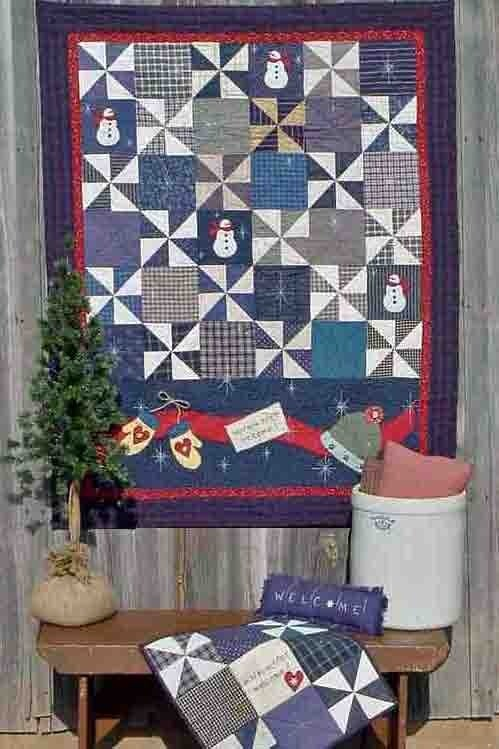 Image of Winter Welcome - Pattern Q104 PAPER pattern