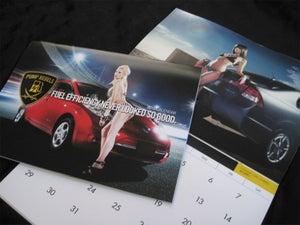 Image of Pump Rebels 2012 Fuel Efficient Car Calendar