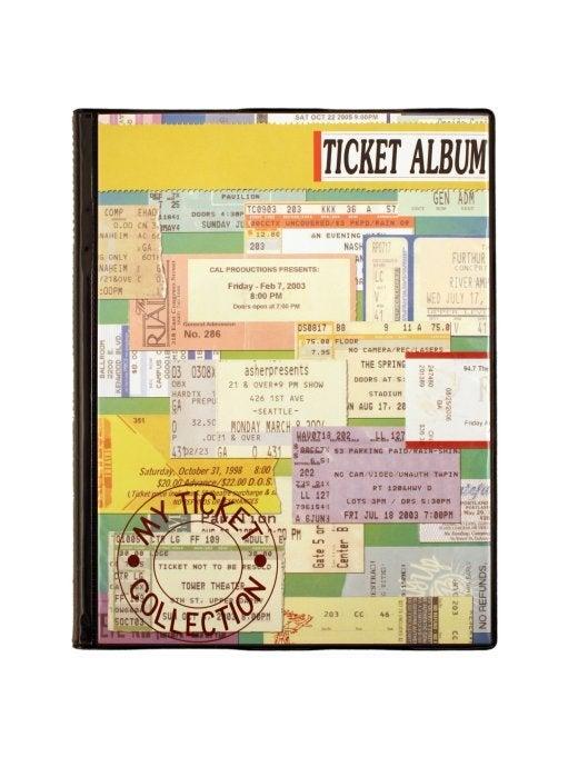Image of Concert Cover Ticket Album