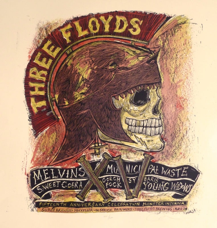 Image of Three Floyds XV poster