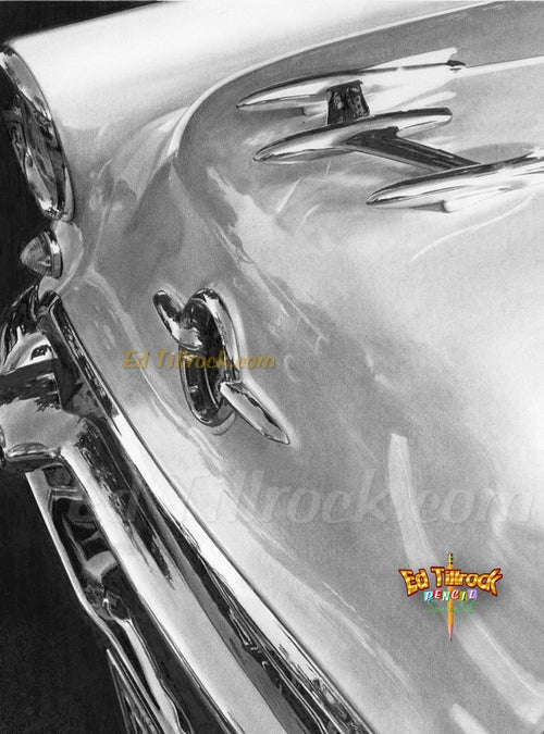 """Image of """"55 Olds"""" 11x17 print"""
