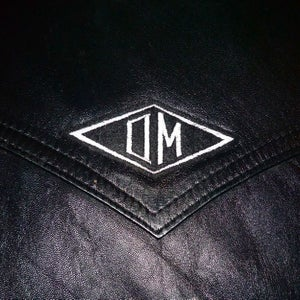 Image of OMARINA 'OM' Diamond Logo Biker Patch