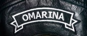 "Image of OMARINA ""Top Rocker"" Style Biker Gang Patch"