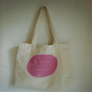Image of SUPPORT YOUR LOCAL GIRLGANG TOTE BAG