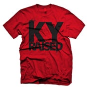 Image of Ky Raised in Red & Black