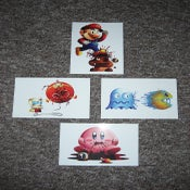 Image of 8 bit fatality Mini print collection