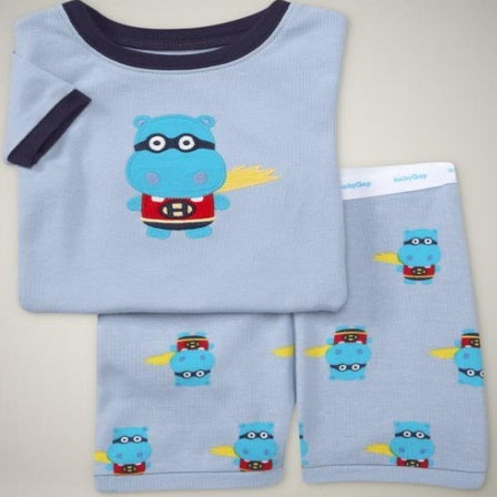 Image of Hip Hip Hippo - Children's Pyjamas