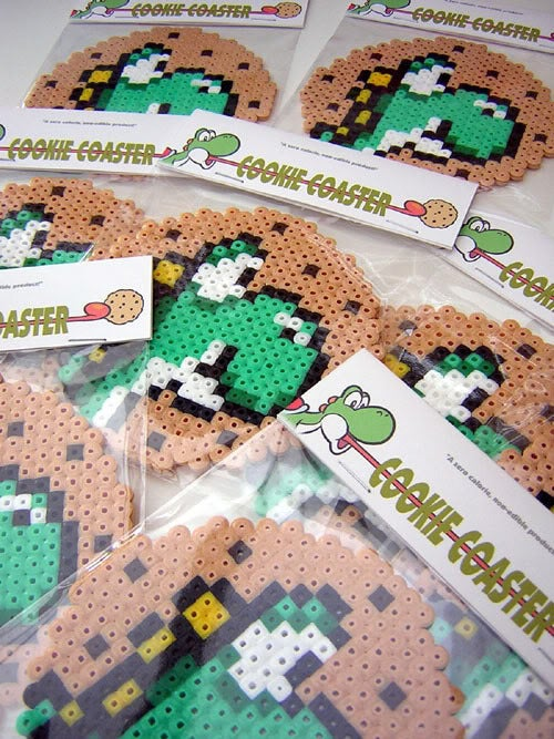 Image of Yoshi Cookie Coaster