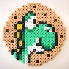 Image of Yoshi Cookie Coaster