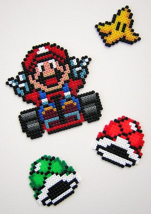 Image of Mario Kart Beadsprite's