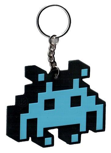 Image of Space Invader Keyring