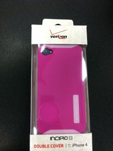 Image of Pink Incipio Double Cover iPhone 4 & 4s Case