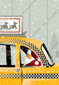 Image of Holiday Cab Ride