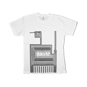 Image of A X(10) Is Always Limiting - Retro Pattern Tee (white)