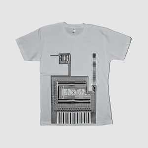 Image of A X(10) Is Always Limiting - Retro Pattern Tee (new silver)