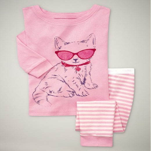 Image of Pink Kitty - Pyjama's