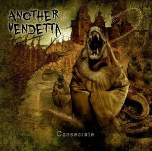 """Image of Another Vendetta """"Consecrate"""" CD"""