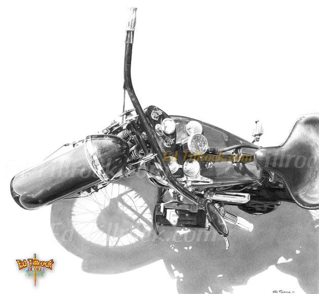 """Image of """"1935 Flattie"""" 11x17 print"""
