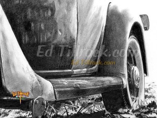 "Image of ""Steel Horse"" 11x17 print"