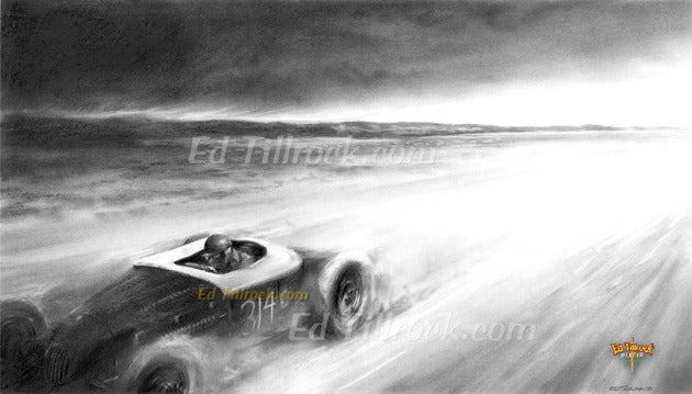 "Image of ""El Mirage""  Signed & Numbered 20x24 Giclee' Print"