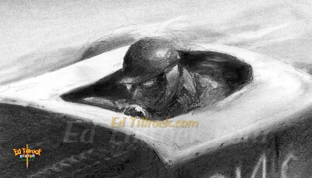 """Image of """"El Mirage""""  Signed & Numbered 20x24 Giclee' Print"""