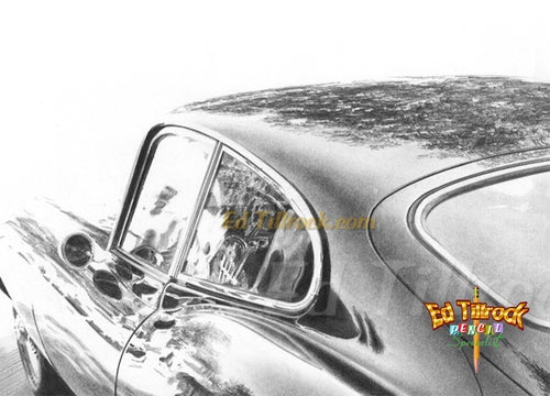"""Image of """"What a Jag!""""  Signed & Numbered 20x24 Giclee' Print"""