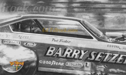 """Image of """"Pat Foster""""  Signed & Numbered 20x24 Giclee' Print"""