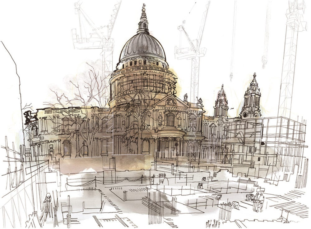 Image of The north side of St Paul's