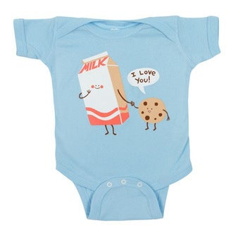 Image of Milk Loves Cookie - Onesie