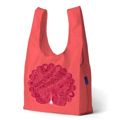 Image of Peacock At Night - Tote Bag