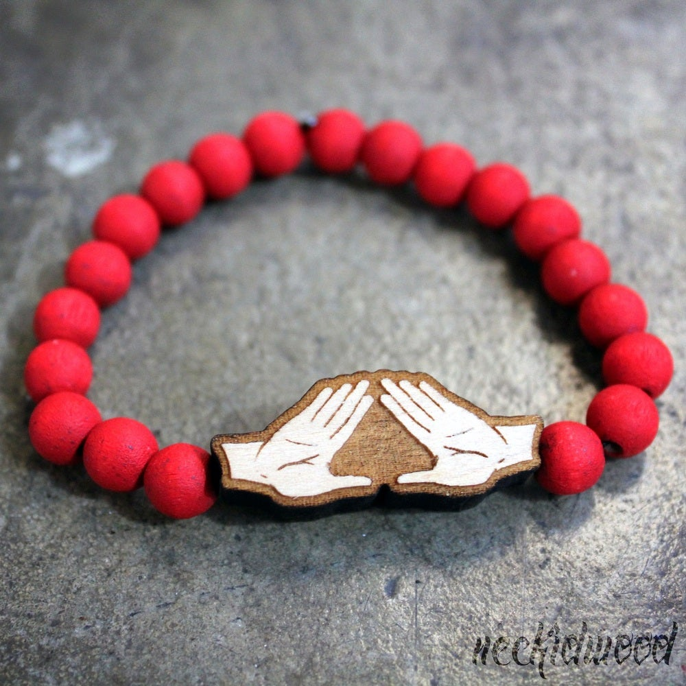Image of Delta Sigma Theta Sign Bracelet